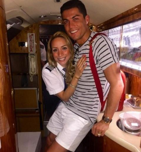 İşte Ronaldo'nun özel pilotu