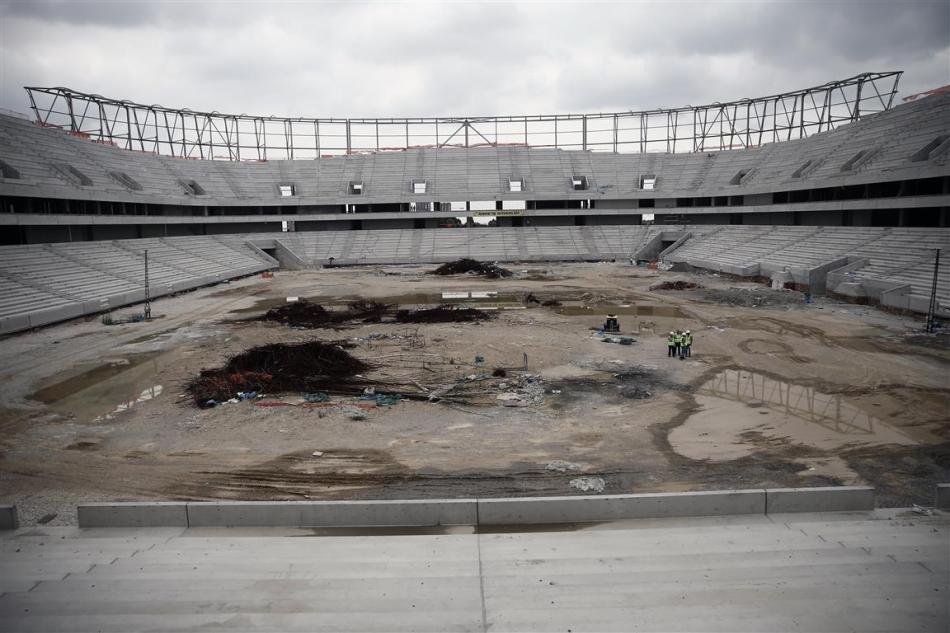Adana'nın yeni stadı yükseliyor