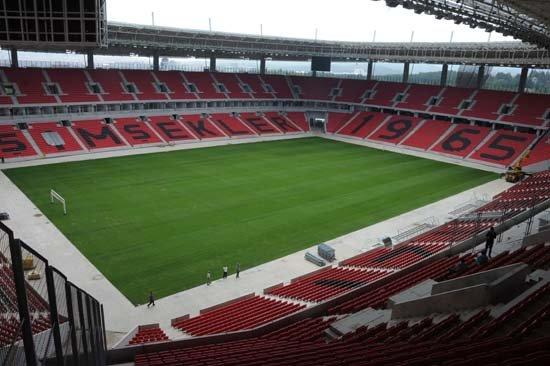 Eskişehirspor'un yeni stadı açılıyor