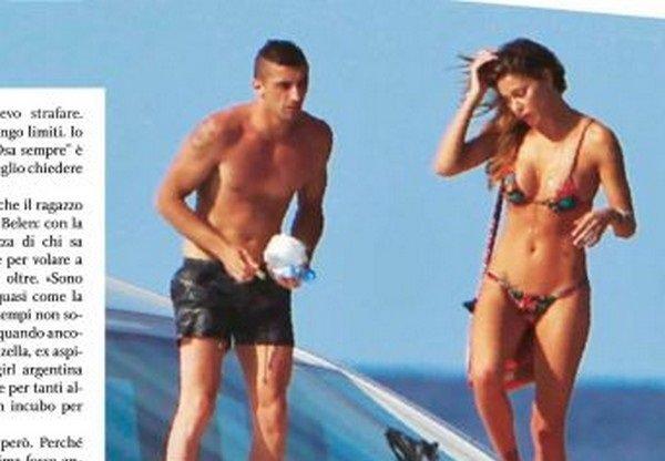 Belen Rodriguez'in aşkı Andrea Iannone MotoGP'de boy gösterecek