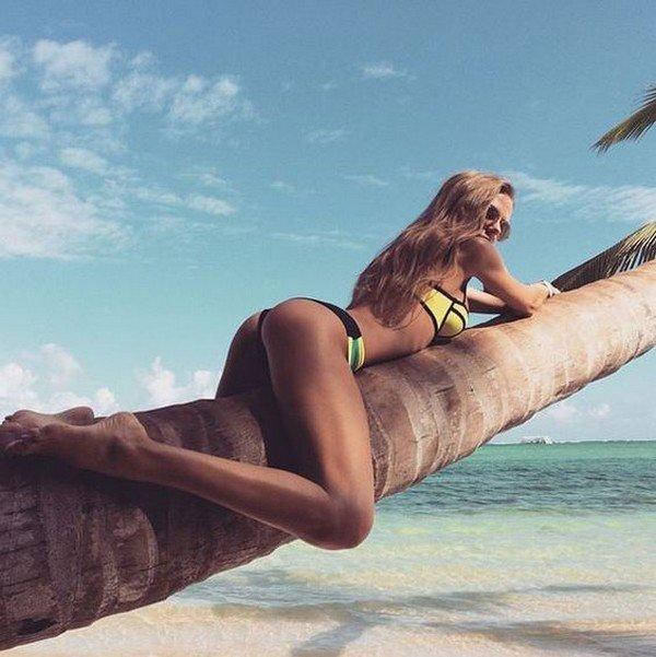 Instagram ünlüsü Anastasia Skyline nefes kesiyor
