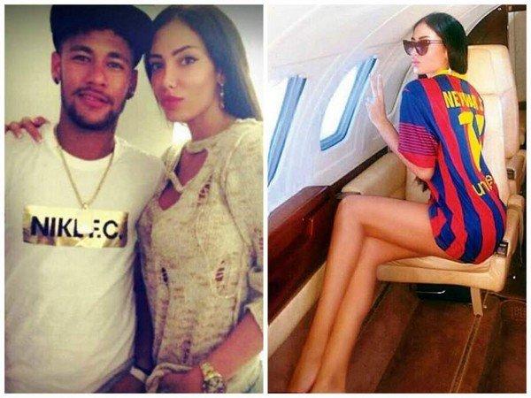 Neymar'ın eski aşkı sosyal medyayı salladı