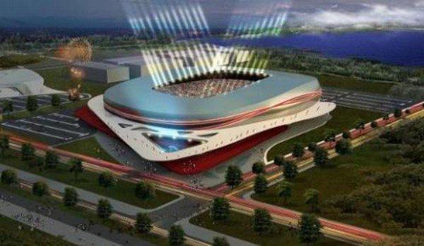 Yeni Samsun 19 Mayıs stadında sona doğru