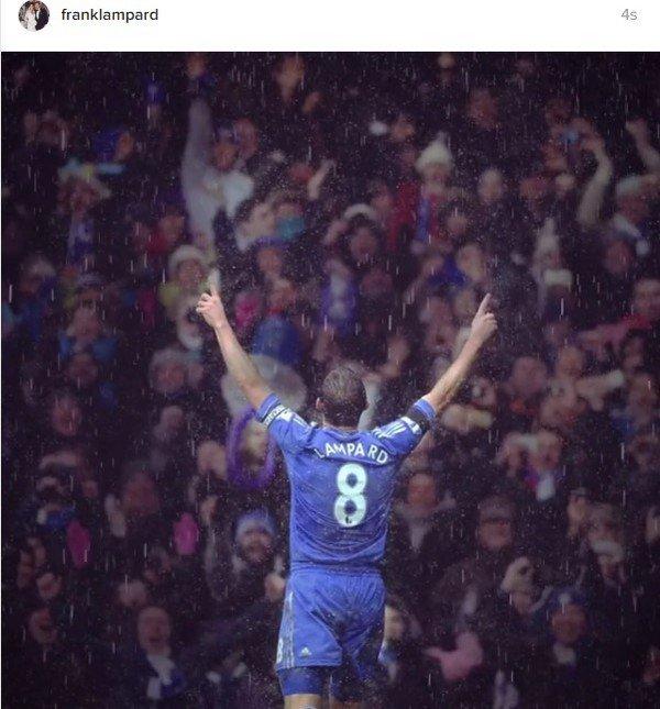 Frank Lampard'a arkadaşlarından sevgi seli