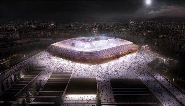 Fiorentina, taraftarlarına yeni stad müjdesini verdi