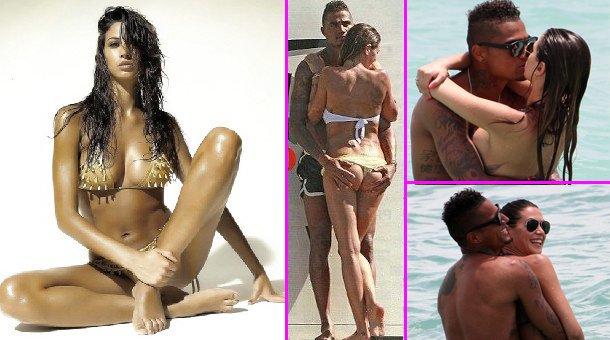 Kevin Prince Boateng'in eşi Melissa Satta'nın fotoğrafları