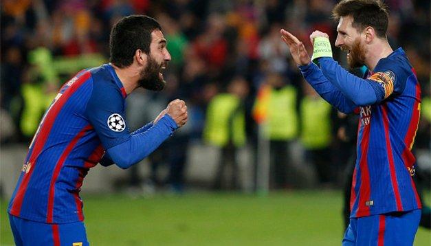 Unutulmaz maçtan unutulmaz kareler: Barcelona - PSG