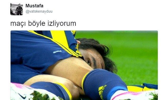 Galatasaray - Fenerbahçe derbisi hakkındaki tweetler