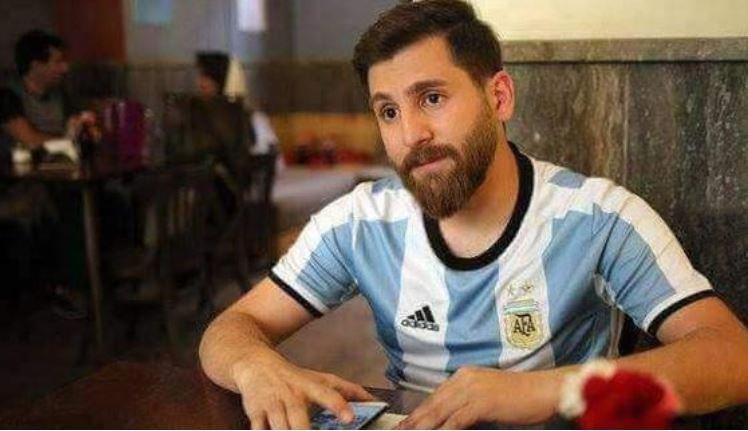 İran'da Messi'nin kopyası