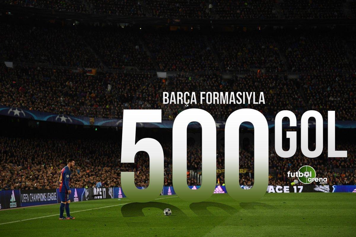 Lionel Messi'nin 500 gollük hikayesi!