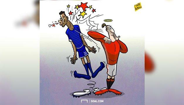 Mart ayının futbol karikatürleri