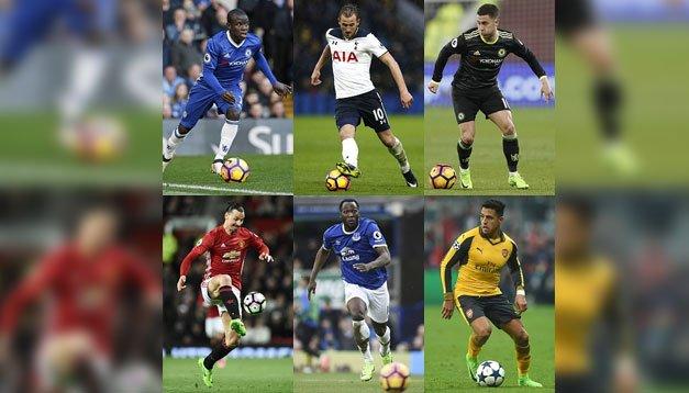 Premier Lig'de sözleşmesi biten futbolcular