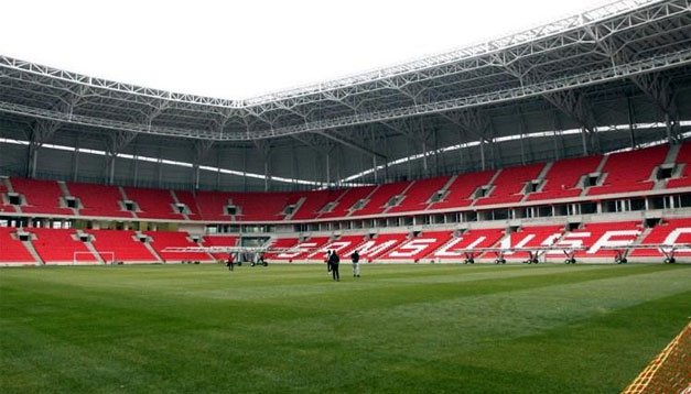 Samsun Stadı'nda sona yaklaşıldı