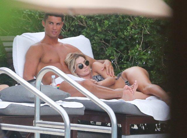Cristiano Ronaldo'nun eski aşkı Cassandre Davis