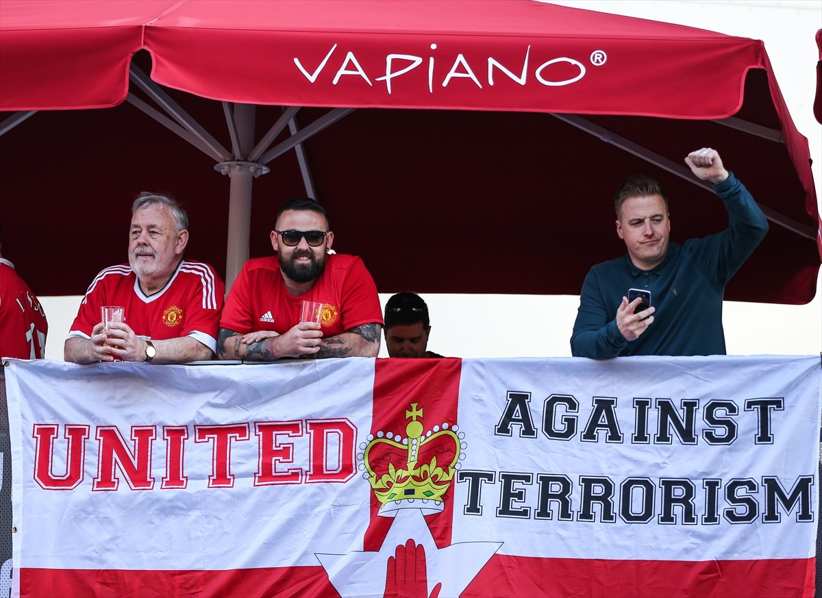 Ajax - Manchester United finalinde dikkat çeken görüntü