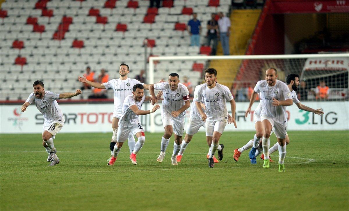 Altay, Spor Toto 2. Lig'e yükseldi