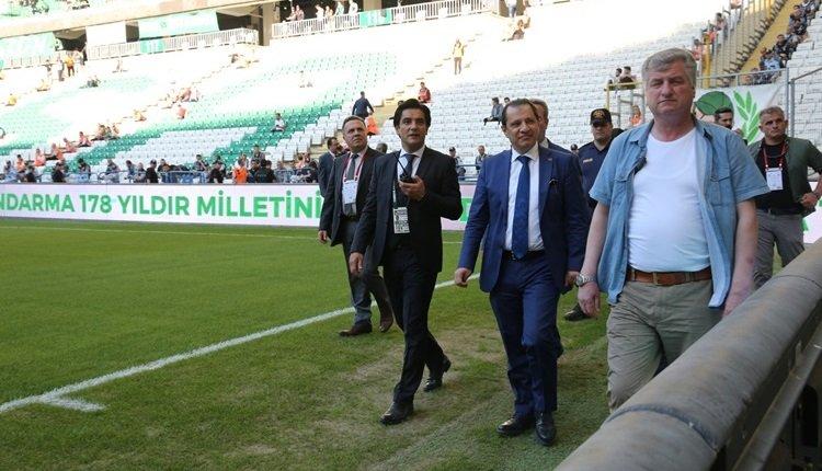 Bursa emniyetinden Bursaspor - Beşiktaş maçı açıklaması