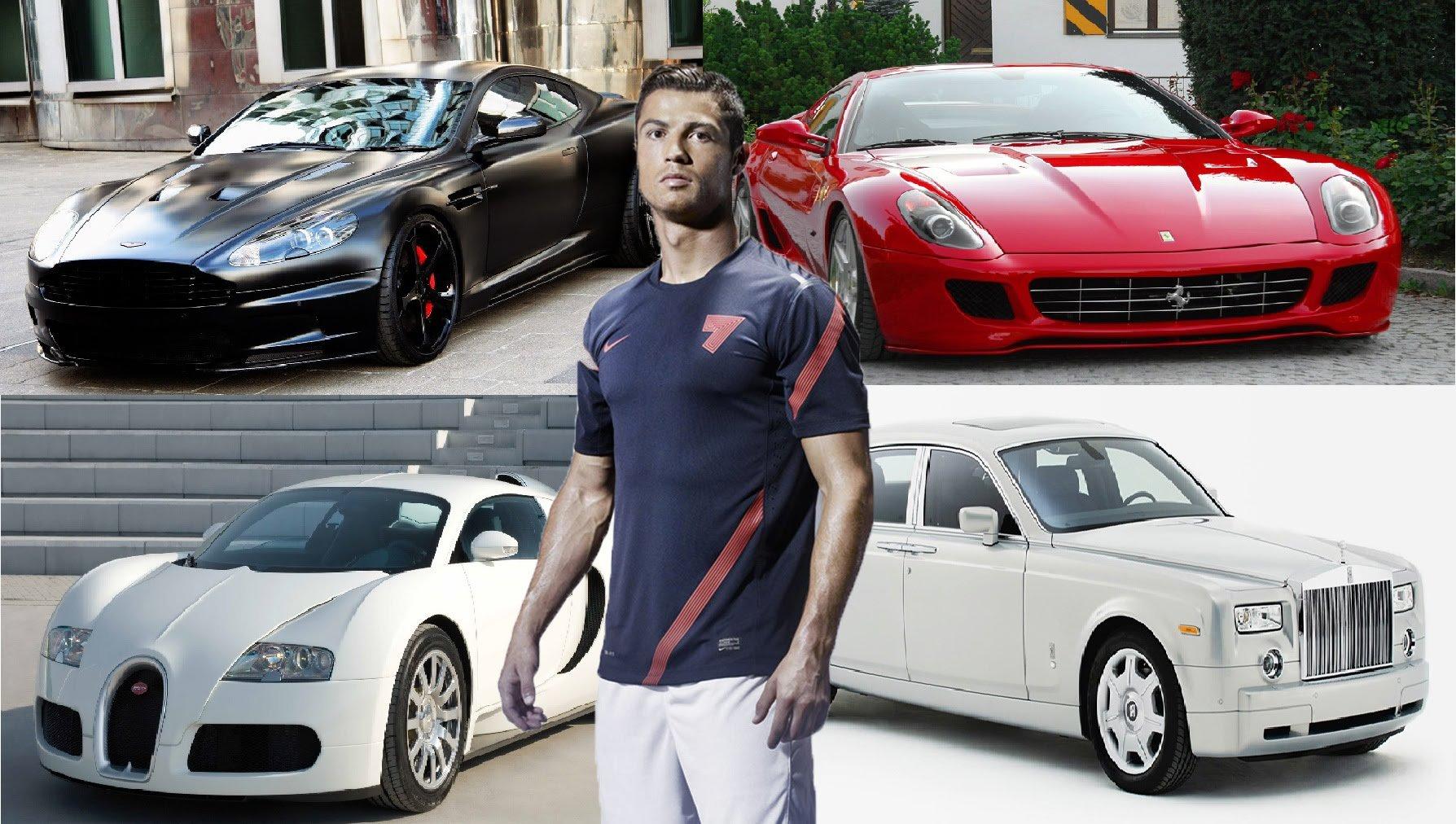 Cristiano Ronaldo'nun arabaları