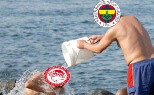 Fenerbahçe - Olympiakos maçı capsleri