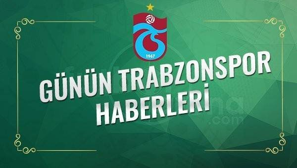 Gazetelerde Trabzonspor Haberleri - Trabzonspor Transfer Haberleri (7 Mayıs 2017)