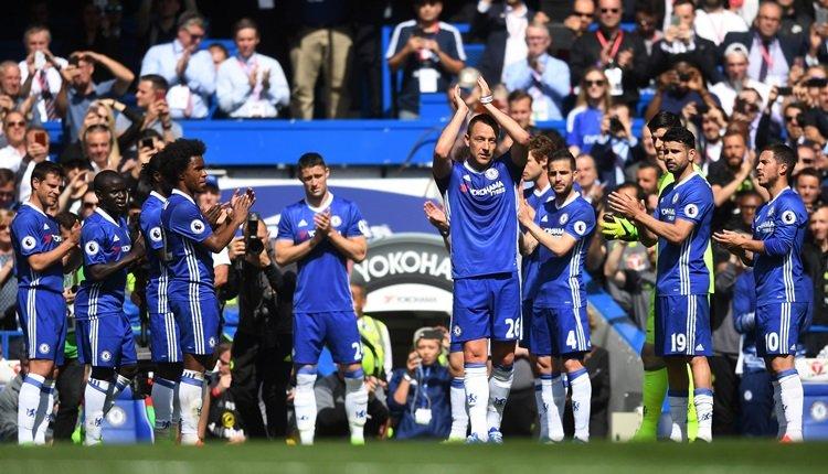 John Terry, Chelsea'ye alkışlarla veda etti