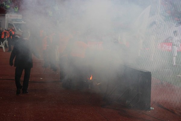 Medipol Başakşehir - Konyaspor finalinde kavga çıktı