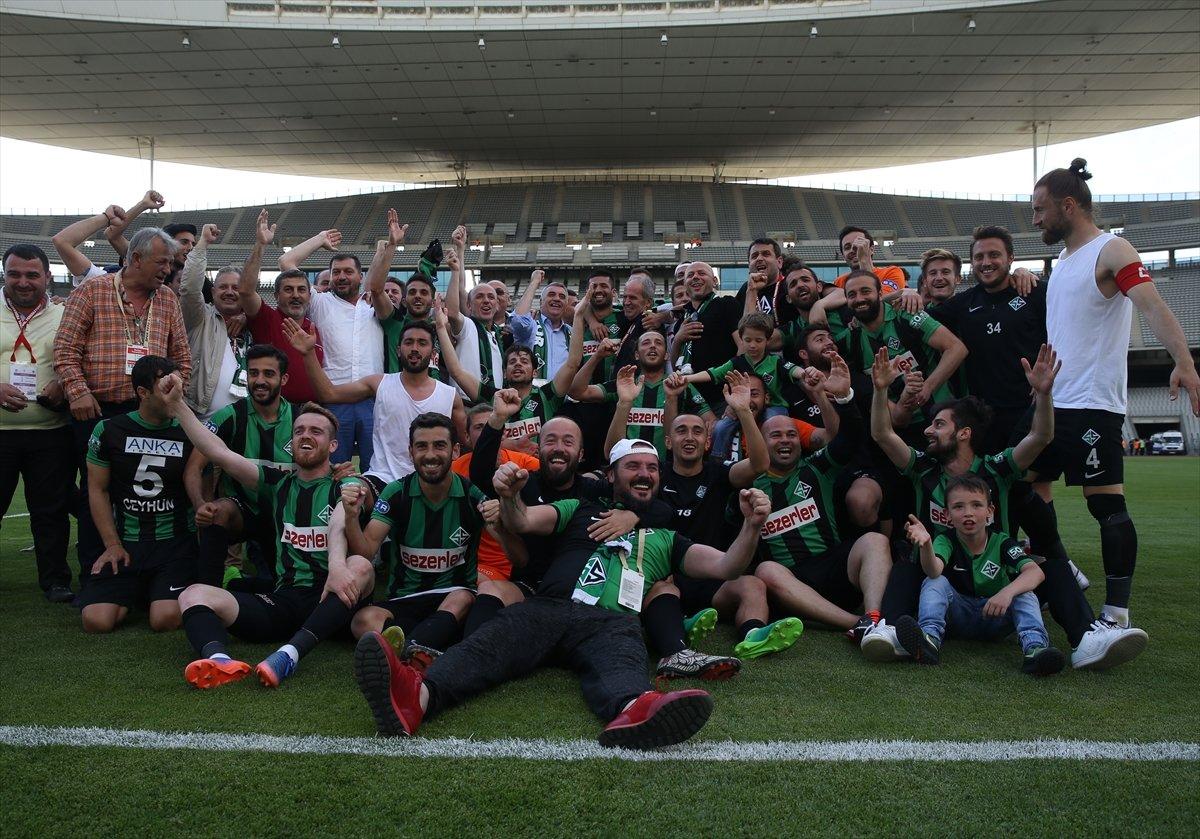 Sakaryaspor'un şampiyonluk coşkusu