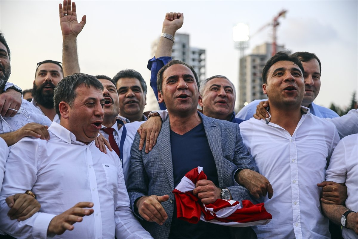 Sivasspor'da Süper Lig sevinci