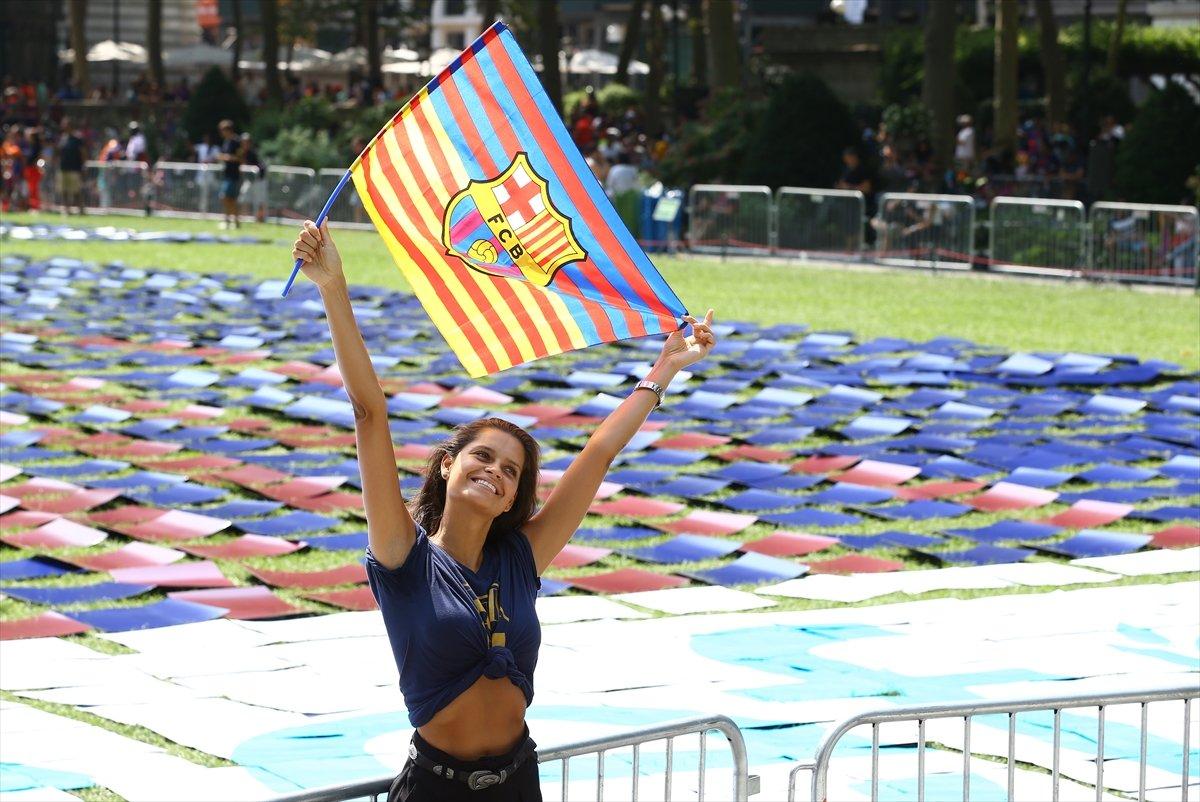 Barcelona'dan New York'ta Guinness rekoru