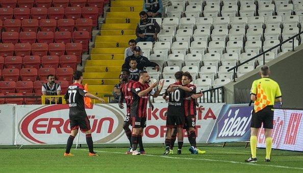 Gaziantepspor'da yönetimin hain ilan ettiği futbolcu