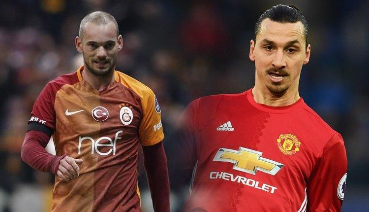 Sneijder ve Ibrahimovic aynı takımda