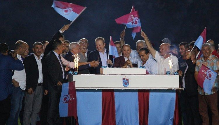 Trabzonspor'da 50. yıl kutlamaları