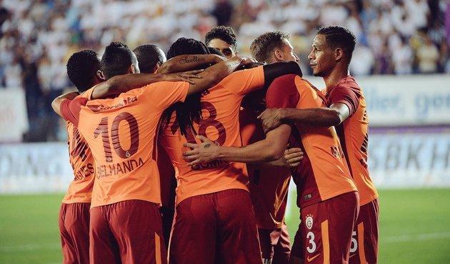 Galatasaray 8 yıllık rekoru kırdı
