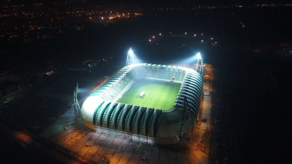 Ülkemizde yapılan yeni stadyumlar