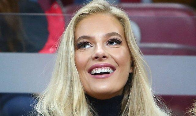 'Galatasaray maçına damga vuran güzel kadın konuştu
