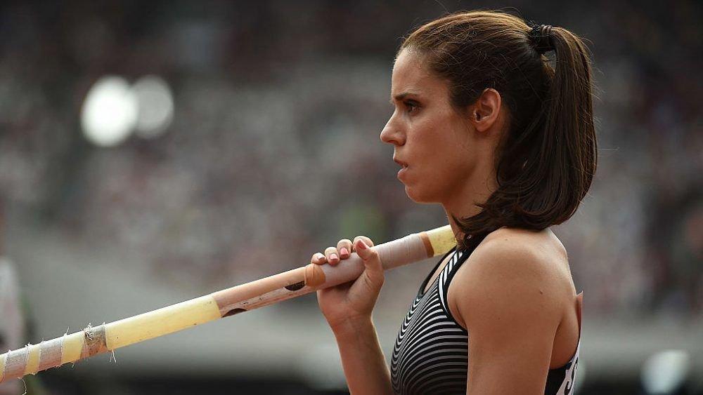 'Güzel atlet Katerina Stefanidi'ye büyük onur!