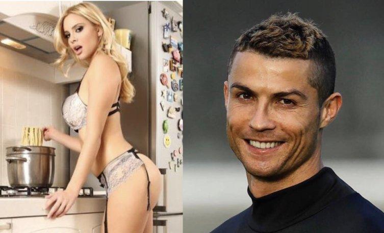 'Güzel model Ria Antoniou'dan Ronaldo itirafı!
