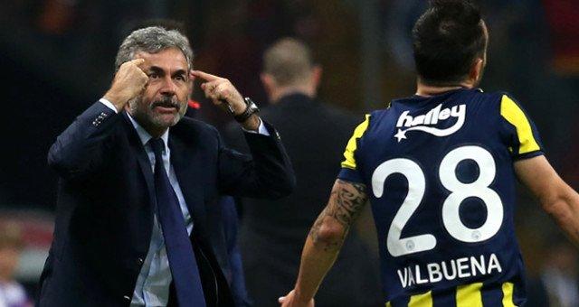 Ve Aykut Kocaman, Valbuena için kararını verdi