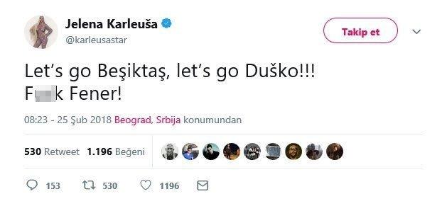 <h2>Beşiktaşlı futbolcunun eşinden sinkaflı paylaşım!</h2>