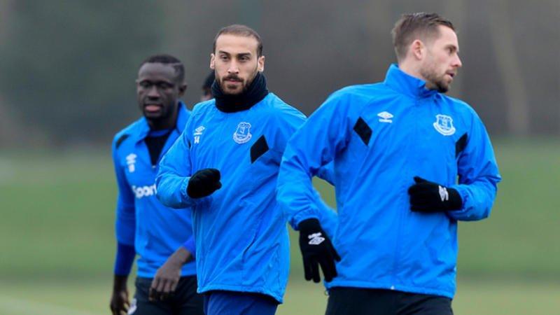 Everton'da Cenk Tosun'a bir şok daha