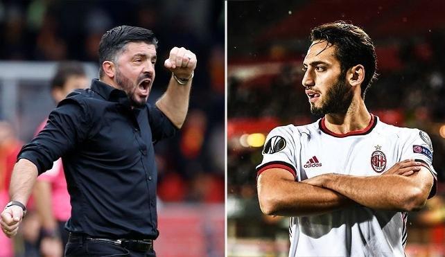 Gattuso'dan Hakan Çalhanoğlu'na: Ona yumruk atmak istedim