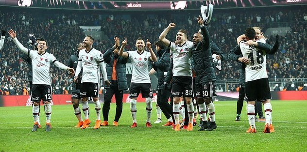 <h2>Kupa rekabetinde Beşiktaş üstün</h2>