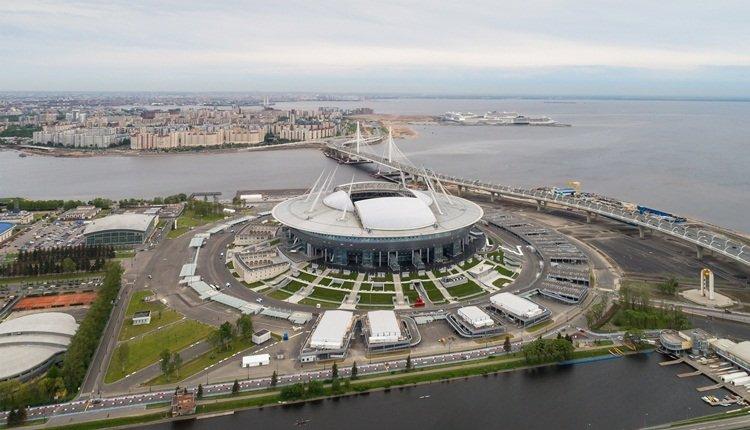 <h2>Stadion St. Petersburg [St. Petersburg, Rusya]</h2>
