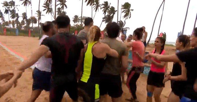 'Survivor'da şok kavganın montajsız görüntüleri yayınlandı