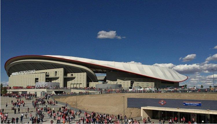 <h2>Wanda Metropolitano [Madrid, İspanya]</h2>