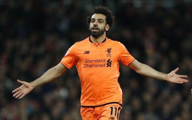Liverpool'dan Salah için inanılmaz tribün
