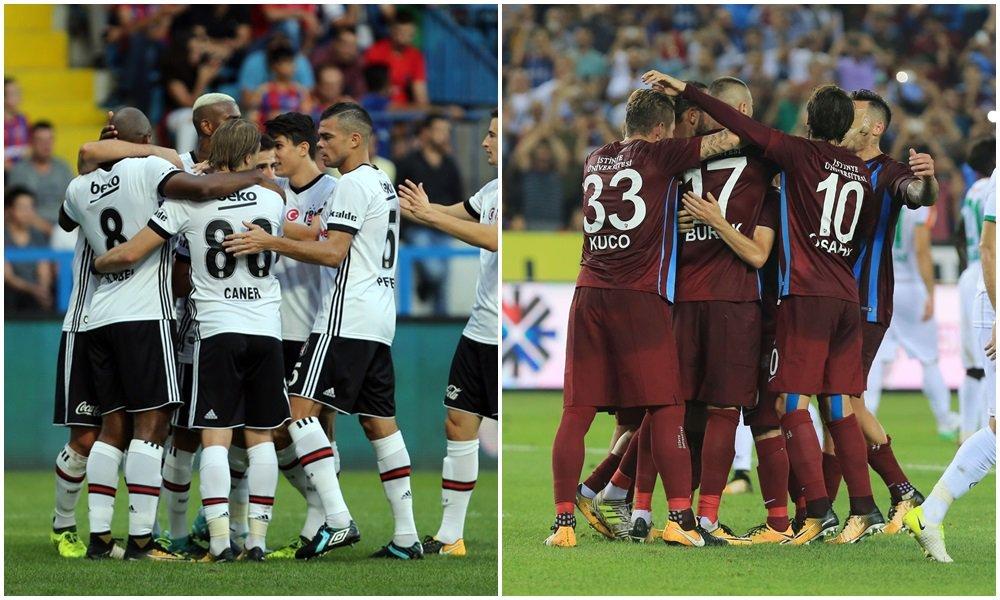 Trabzonspor - Beşiktaş maçı öncesi sıcak gelişme! Tribünler...