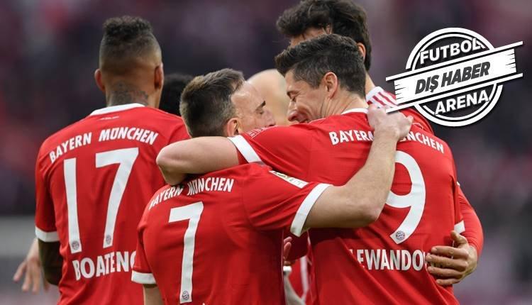 Bayern Münih 42 milyon Euro'luk transferi bitiriyor