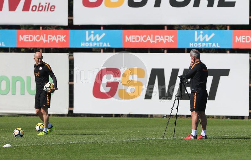FutbolArena, Galatasaray antrenmanında (5 Nisan 2018 Perşembe)