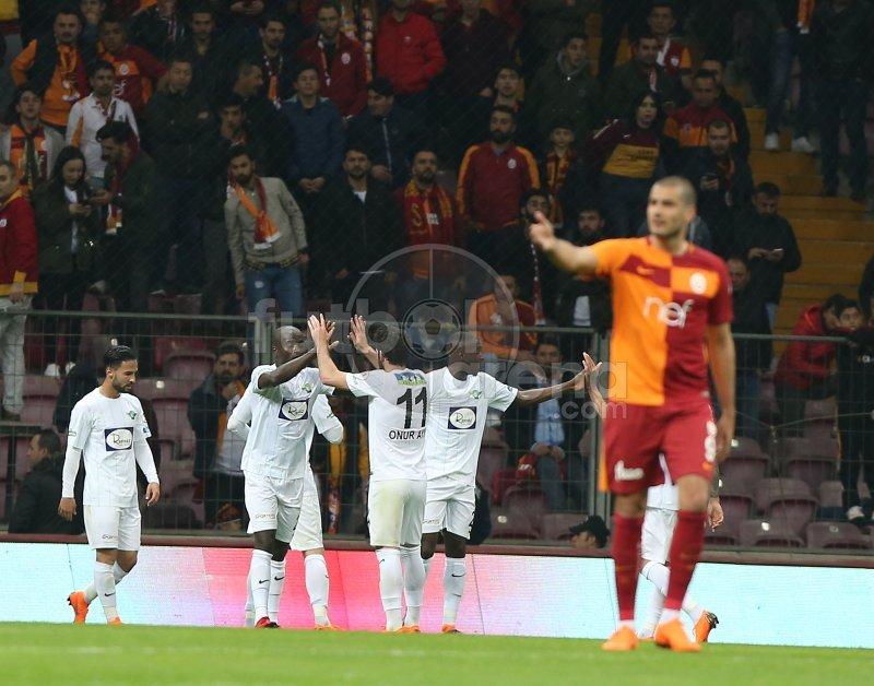 Galatasaray'a şok! Galibiyet serisi bitti